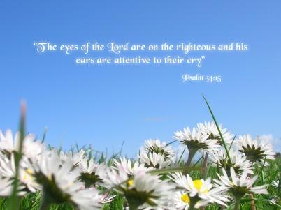 Psalm 34 15