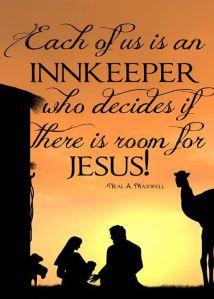 room for jesus