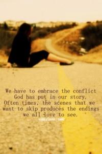 trusting conflict